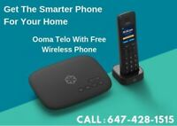HOME PHONE, OOMA TELO, UNLIMITED HIGH SPEED INTERNET