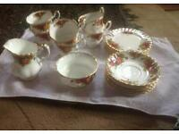 Vintage 70s old country rose China