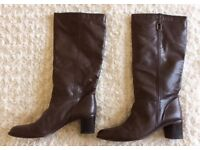 DUNE Leather Boots