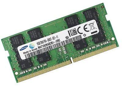 16GB Samsung DDR4 2400 Mhz Ram f. DELL Inspirion 15 - 7570...