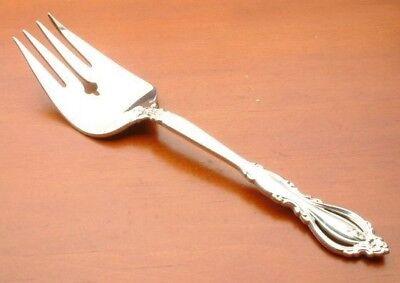 Regency Cold Meat Fork - Grande Regency by International Sterling Silver Cold Meat Serving Fork