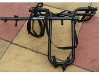 Bike carrier for 4x4 for spare wheel