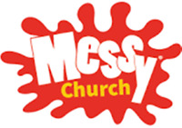 Messy Church at Central United, Sarnia on October 26