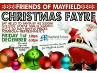 Mayfield School Christmas Fayre - 1.12.17, 3-5.30pm