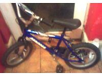 "Boy / Childs Magna Bike 14"" Wheels VGC Tyres Recently Pumped"