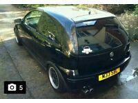 Vauxhall corsa irmscher exhaust