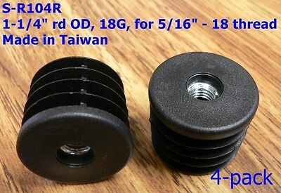 Oajen Caster Socket Furniture Insert For 516 - 18 Thread For 1-14 Od 4 Pcs