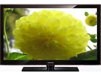 "SAMSUNG 40"" INCH HD LCD TV WITH BUILT IN FREEVIEW ++DELIVERY IS POSSIBLE++"