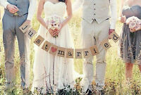 Bunting Signs for Wedding Photos or Decor $15/Special events