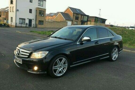 mercedes benz c class c200 amg 2008 ovno in oldham manchester gumtree. Black Bedroom Furniture Sets. Home Design Ideas