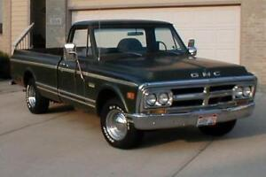 WANTED! 1967-1972 CHEVROLET C10 GMC 910