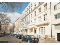 Studio apartment in this period conversion property in Leinster Gardens, W2.