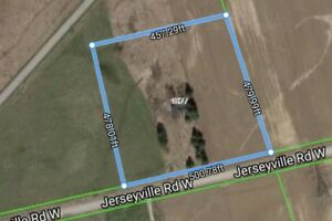 Over 5 acres of land backing onto Golf Course