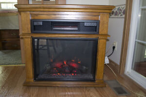 Toasty and Attractive DURAFLAME Electric Fireplace - Like NEW!!