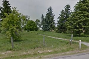 Over 5 acres of Ancaster land backing onto Golf Course