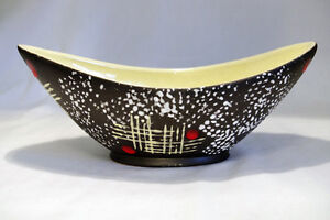 Mid Century Modern Germany Art Pottery Bowl
