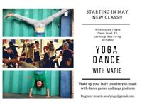 Yoga dance classes with Marie- Lordship park Hub!