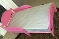 DELTA TODDLER BED WITH MATTRESS