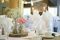 Wedding Chair Covers,Center Pieces,Backdrops Rentals