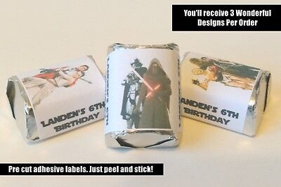 Star Wars Hershey Nugget Labels, Starwars Vader, Party Favor, Birthday Favors