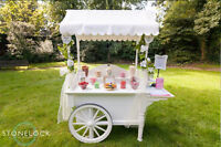 Beautiful Candy Carts for Hire