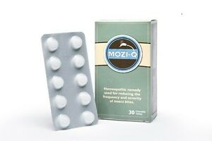 12 Boxes of Mozi-Q All-Natural Insect Repellent Chewable Tablets