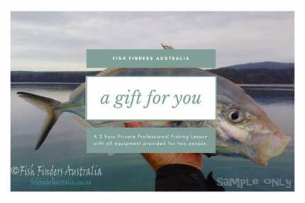 Perfect Xmas Gift! Gift Voucher for Pro Fishing Lessons