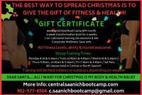 Give the Gift of Health & Fitness for Christmas!