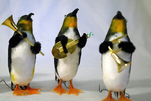 Christmas Penguins Playing Instruments (5) London Ontario image 2