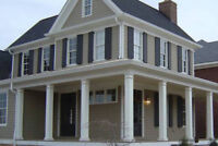 Exterior Columns, Railing, Siding and Trim Installers needed