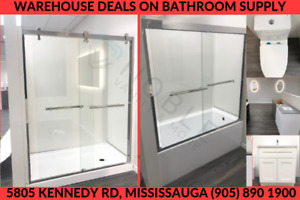SHOWER DOOR,SHOWER BASE,SHOWER PANELS,TUBS$349