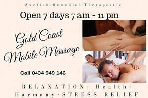 MOBILE MASSAGE GOLD COAST In/Out Calls 7 days 7am-11pm Gold Coast Region Preview