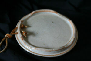 Trivet - New Handmade Pottery, with Leather Hanging Straps Kingston Kingston Area image 2