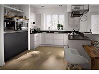 Handleless Gloss or Matt Painted Kitchens £1965.00