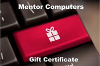 Mentor Computers Gift Certificates