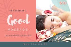 You deserve a GOOD Massage for Stress & Pain relief
