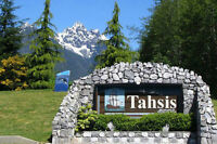 FOR RENT or OWN in TAHSIS, BC, ONE BLOCK from the OCEAN