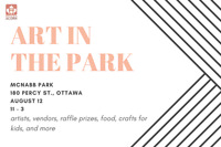 Art in the Park - Local Artisans, Food, and More!