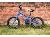 Ridgeback MX 16 Blue bike