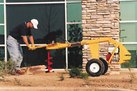 Groundhog HD99 Post Hole Digger