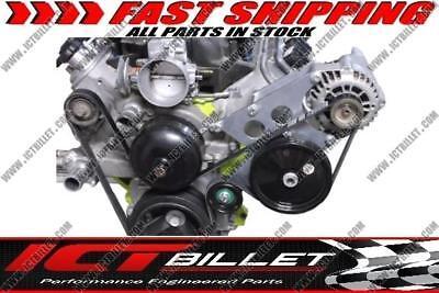 Corvette LS Alternator & Power Steering Pump Bracket Accessory Kit Turbo LS1