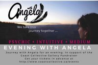 Coast Collective Fundraiser Event- Angela Psychic Medium Oct 21