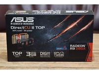 ASUS DirectCU II TOP Radeon R9 280X 3GB graphics card