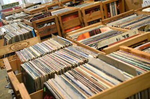 TURNTABLES + THOUSANDS OF RECORDS $1 each 7 for $5 10-3pm Windsor Region Ontario image 2