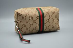 New Gucci Cosmetic Make Up Bag