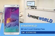 GALAXY NOTE 4 32GB EXCELLENT CONDITION Strathfield Strathfield Area Preview