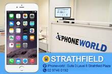 iPhone 6  64GB Silver Used Good condition ! Strathfield Strathfield Area Preview