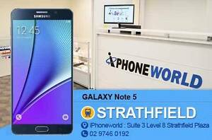 GALAXY NOTE 5 32GB Used Excellent condition UNLOCKED Strathfield Strathfield Area Preview