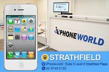 iphone 4 32GB White NEW NEVER USED // unlocked // Strathfield Strathfield Area Preview