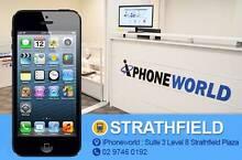 iphone 5 16GB Black /White Used good condition // unlock Strathfield Strathfield Area Preview